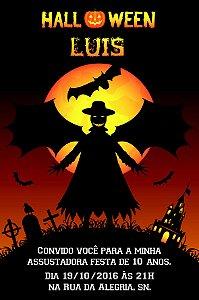 Convite digital personalizado Halloween 042