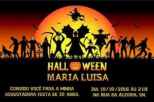 Convite digital personalizado Halloween 046
