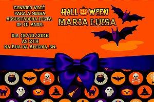 Convite digital personalizado Halloween 053