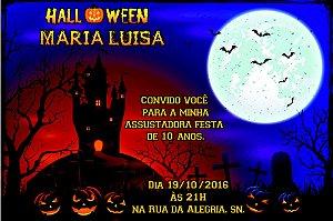 Convite digital personalizado Halloween 056