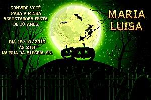 Convite digital personalizado Halloween 058