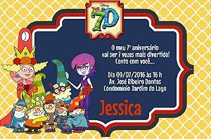 Convite digital personalizado Os 7A 001