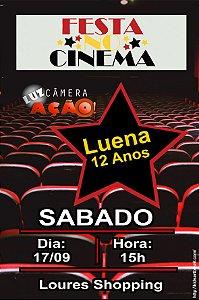 Convite digital personalizado Cinema 004