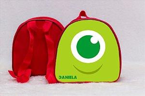 Arte para mochila personalizada Monstros SA 001