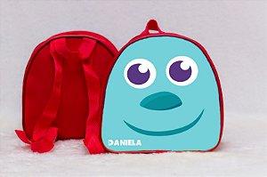 Arte para mochila personalizada Monstros SA 002
