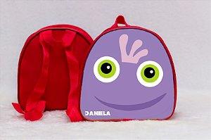 Arte para mochila personalizada Monstros SA 005