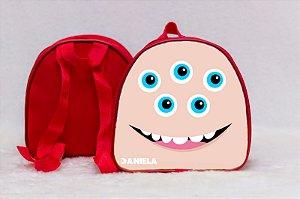 Arte para mochila personalizada Monstros SA 006