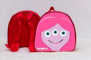 Arte para mochila personalizada Monstros SA 007