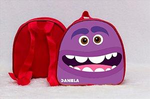 Arte para mochila personalizada Monstros SA 009