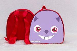 Arte para mochila personalizada Alice no país das maravilhas 001