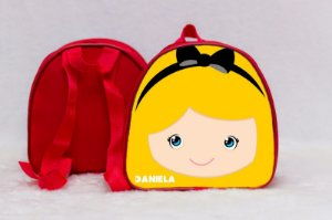 Arte para mochila personalizada Alice no país das maravilhas 003