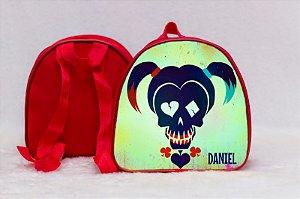 Arte para mochila personalizada Esquadrão Suicida 001
