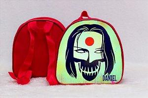 Arte para mochila personalizada Esquadrão Suicida 005
