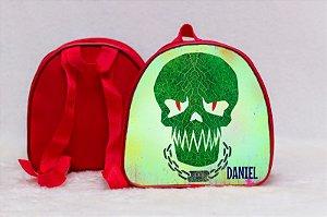 Arte para mochila personalizada Esquadrão Suicida 007