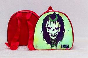 Arte para mochila personalizada Esquadrão Suicida 009
