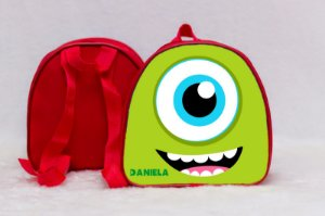 Arte para mochila personalizada Monstros SA 010