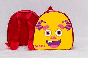 Arte para mochila personalizada Monstros SA 011