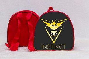 Arte para mochila personalizada Pokemon GO 001