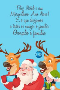 Kit digital especial de Natal Papai Noel Selfie