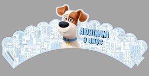 Arte para wrapper (saia) personalizado para Cupcakes Pets - A Vida Secreta dos Bichos 002