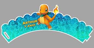 Arte para wrapper (saia) personalizado para Cupcakes Pokémon GO 001