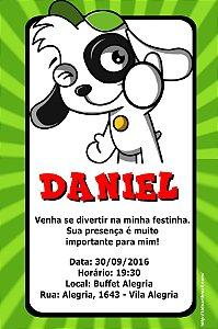 Convite digital personalizado Doki 004