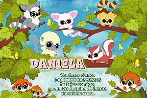 Convite digital personalizado Yoohoo e Amigos 001