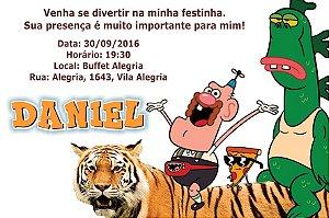 Convite digital personalizado Titio Avô 001