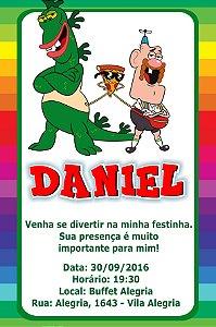 Convite digital personalizado Titio Avô 006
