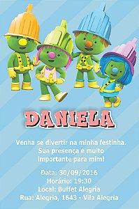 Convite digital personalizado Doozers 004