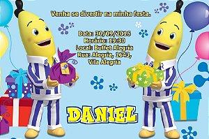 Convite digital personalizado Bananas de Pijamas 004