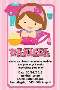 Convite digital personalizado Festa do Pijama 008