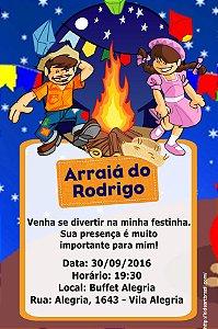 Convite digital personalizado Festa Junina 010