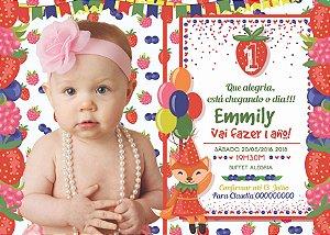 Convite digital personalizado Primeiro Aniversário 133