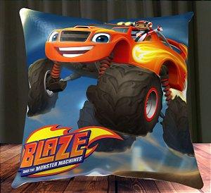 Almofada Personalizada para Festa Blaze and the Monster Machine