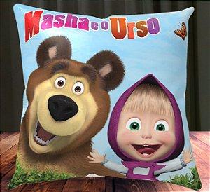 Almofada Personalizada para Festa Masha e o Urso