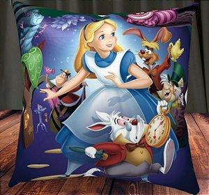 Almofada Personalizada para Festa Alice no País das Maravilhas