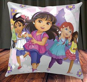 Almofada Personalizada para Festa Dora e Seus Amigos na Cidade