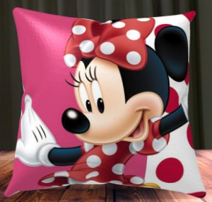 Almofada Personalizada para Festa Minnie