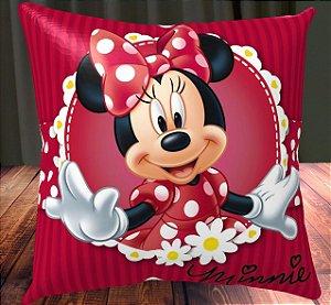 Almofada Personalizada para Festa Minnie Vermelha