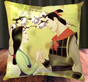 Almofada Personalizada para Festa Mulan 1