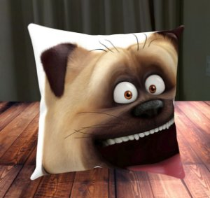 Almofada Personalizada para Festa Pets - A Vida Secreta dos Bichos 3