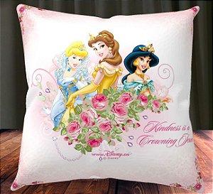 Almofada Personalizada para Festa Princesas Disney