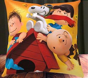Almofada Personalizada para Festa Snoopy e Charlie Brown