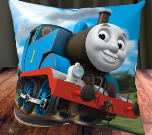 Almofada Personalizada para Festa Thomas e Seus Amigos