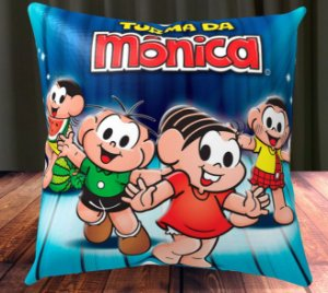 Almofada Personalizada para Festa Turma da Monica