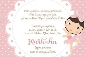 Convite digital personalizado para Chá de Bebê 065