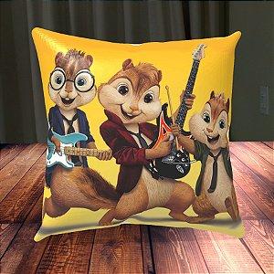 Almofada Personalizada para Festa Alvin e os Esquilos