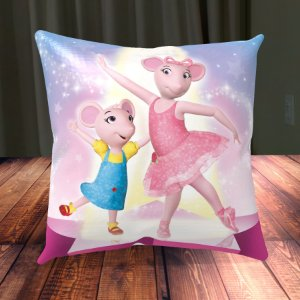 Almofada Personalizada para Festa Angelina Bailarina