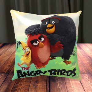Almofada Personalizada para Festa Angry Birds